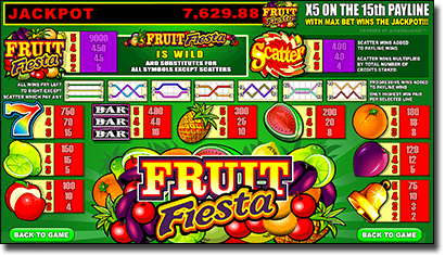 Fruit Fiesta - Online Progressive Jackpot Slot for Aussies